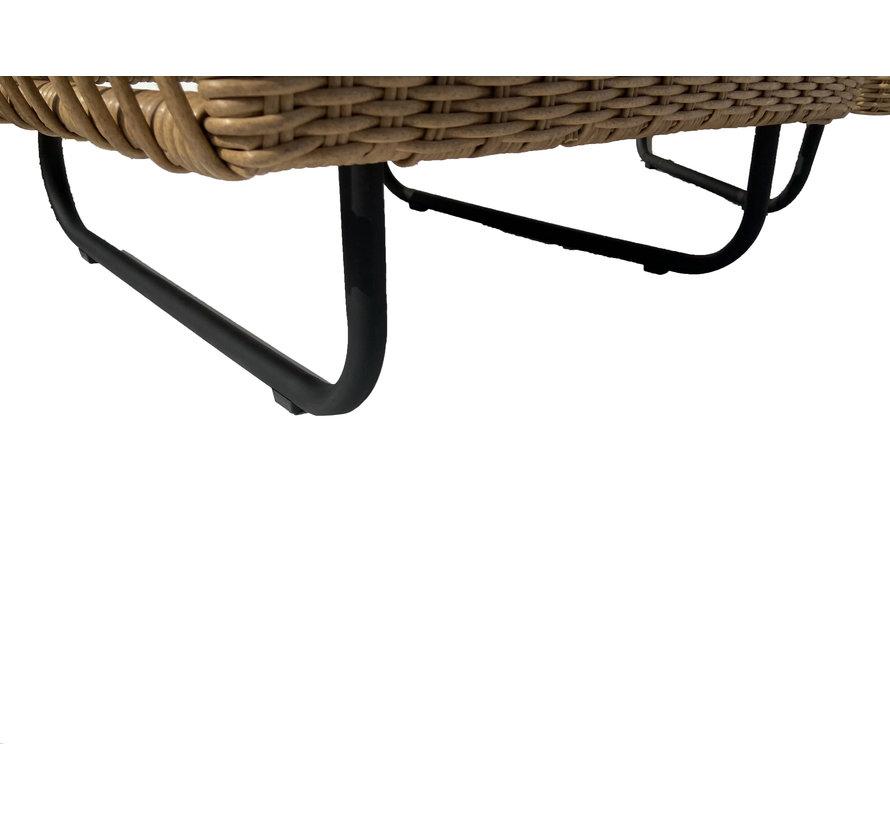 Loungeset Mason Bamboe   Incl. tafel