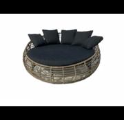 Mondial Living Loungebed Torano Desert Tan - ⌀170 cm