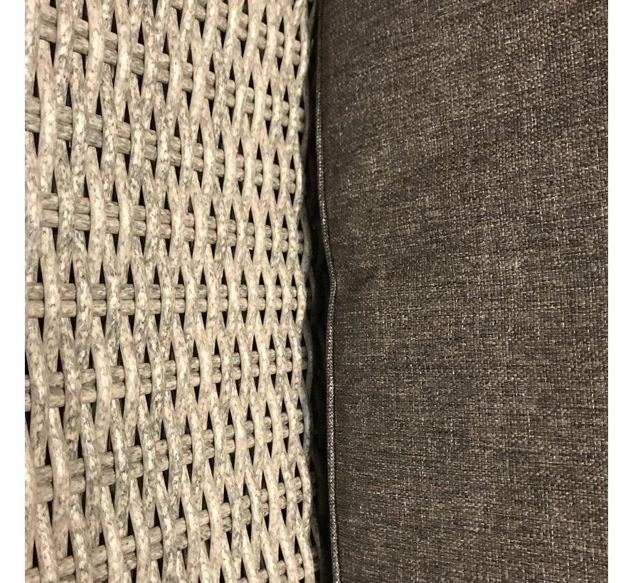 Tuinstoel/Eetstoel Amy Blended Grey   Incl. kussens