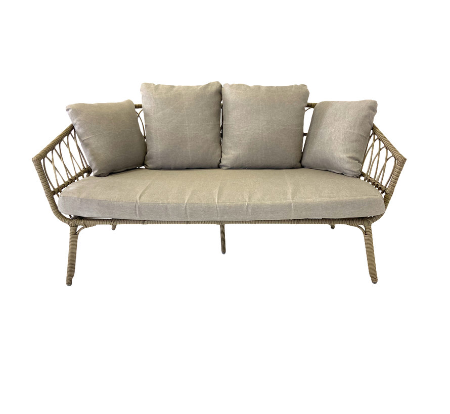 4-persoons Loungeset Parker | Incl. tafel