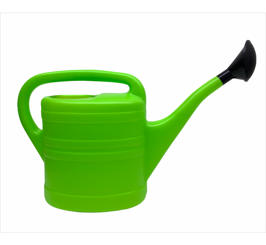 Groene gieter met sproeikop | 10 liter