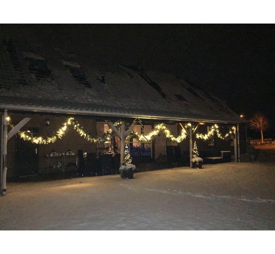 Royal Christmas® Guirlande Washington 540 cm inclusief LED-verlichting | Ook geschikt voor buiten