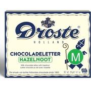 Droste Droste Chocoladeletter Hazelnoot 135 gram | Letter M