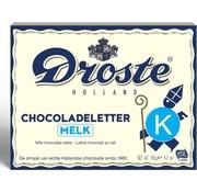Droste Droste Chocoladeletter Melk 135 gram | Letter K