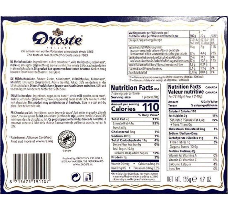 Droste Chocoladeletter Melk 135 gram | Letter B