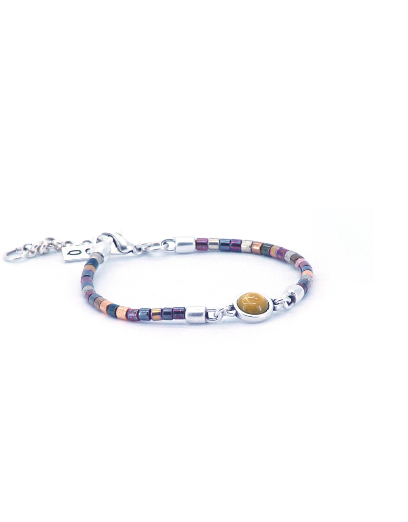 Qoss Armband LILY multicolor matt