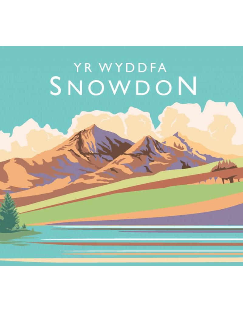 A4 Unframed Poster of Snowdon