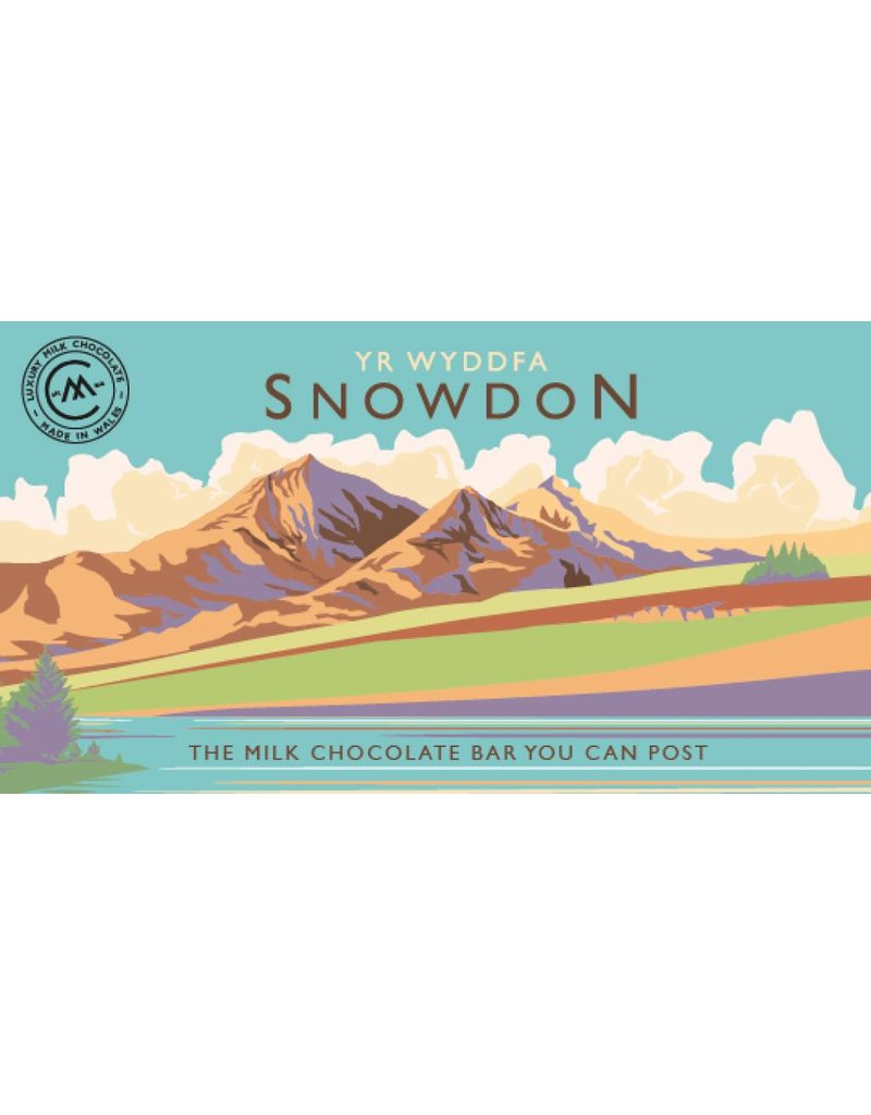Snowdonia Milk Chocolate Bar - Trade Box of 20