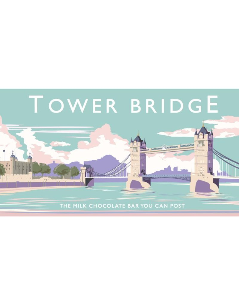 The Chocolate Bar You Can Post -Tower Bridge - Trade Box