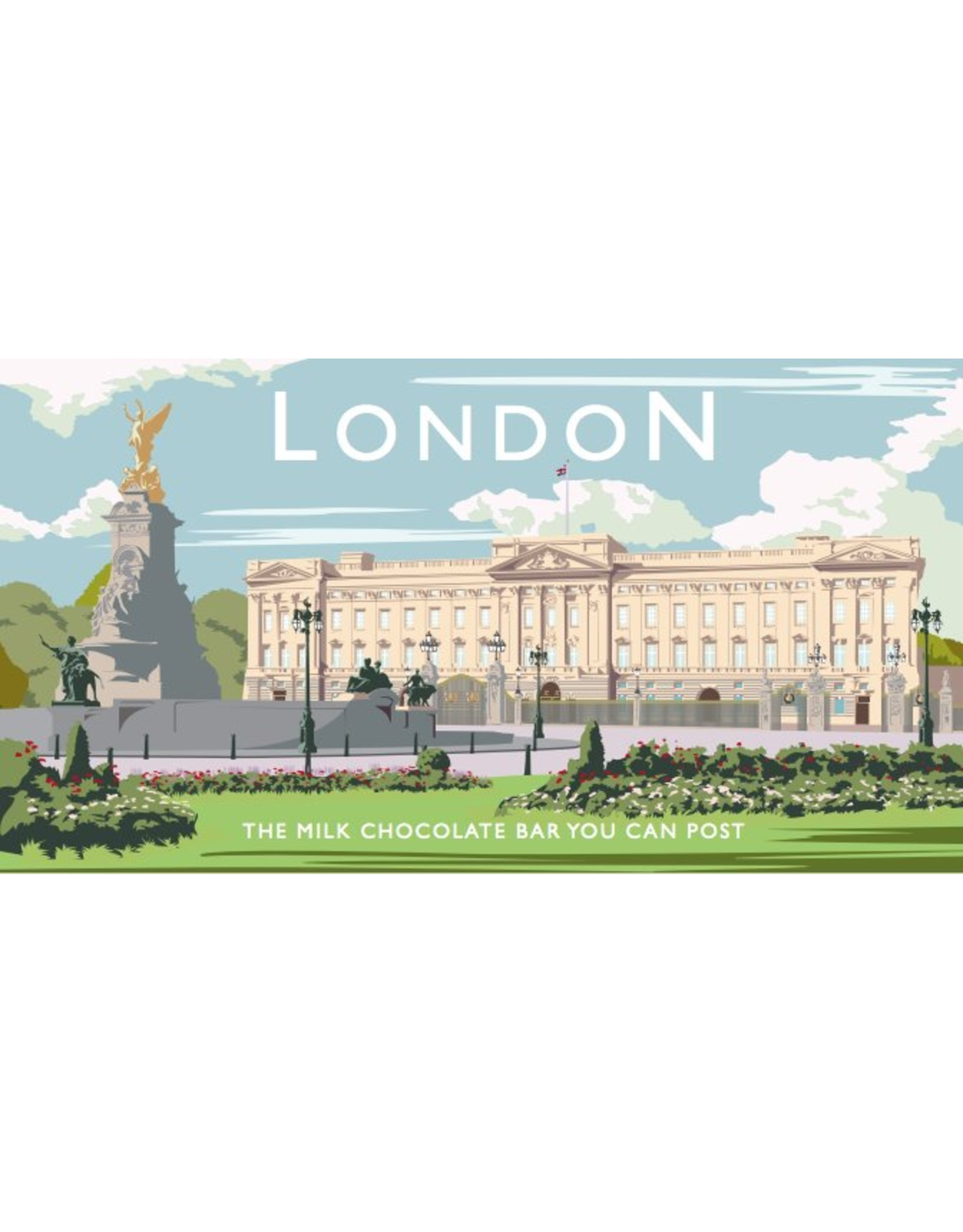The Chocolate Bar You Can Post -Buckingham Palace  - Trade Box
