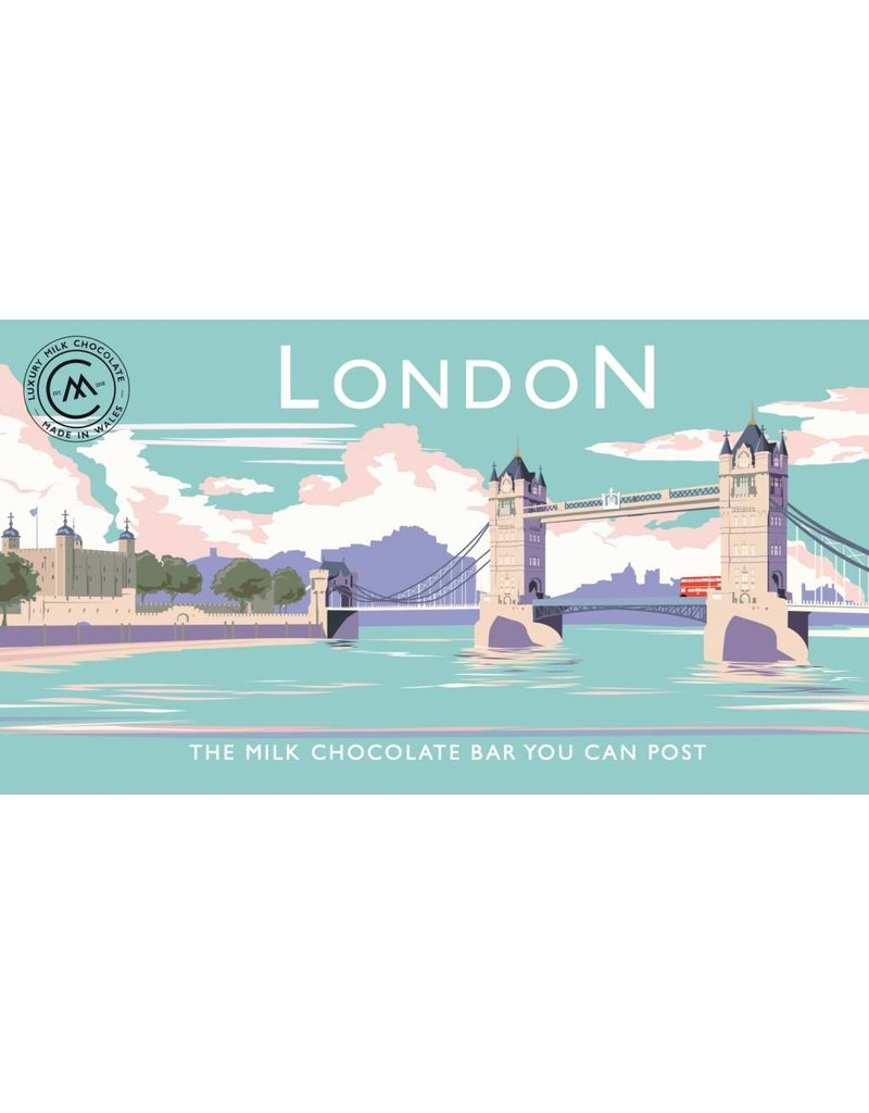 The Chocolate Bar You Can Post -Tower Bridge