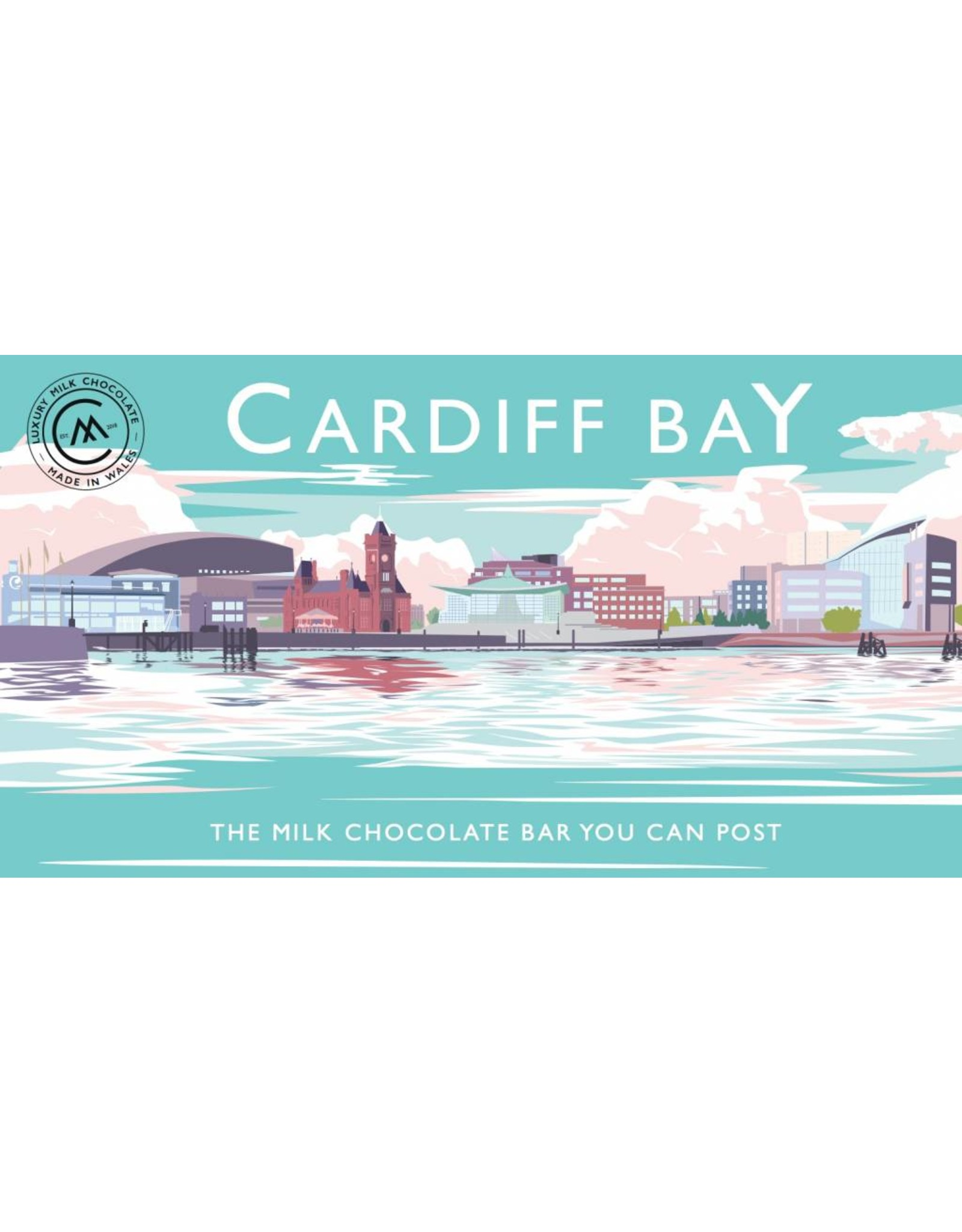 The Chocolate Bar You Can Post - Cardiff Bay