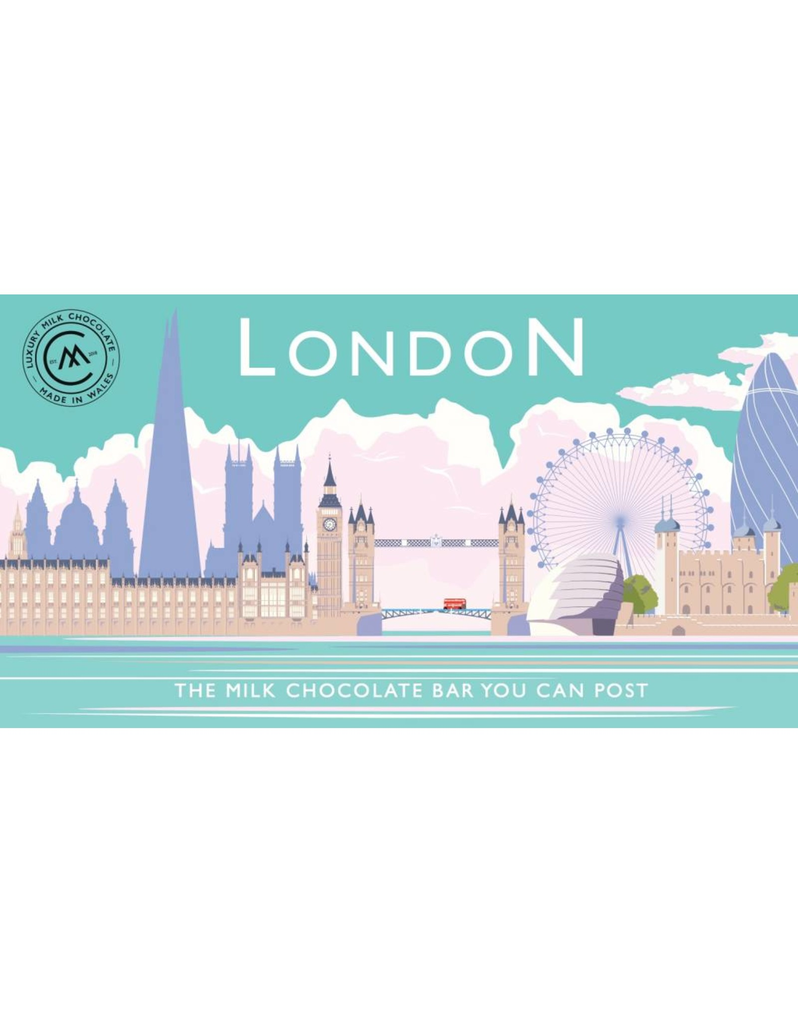 The Chocolate Bar You Can Post - London Skyline