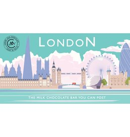 London Skyline Milk Chocolate Bar