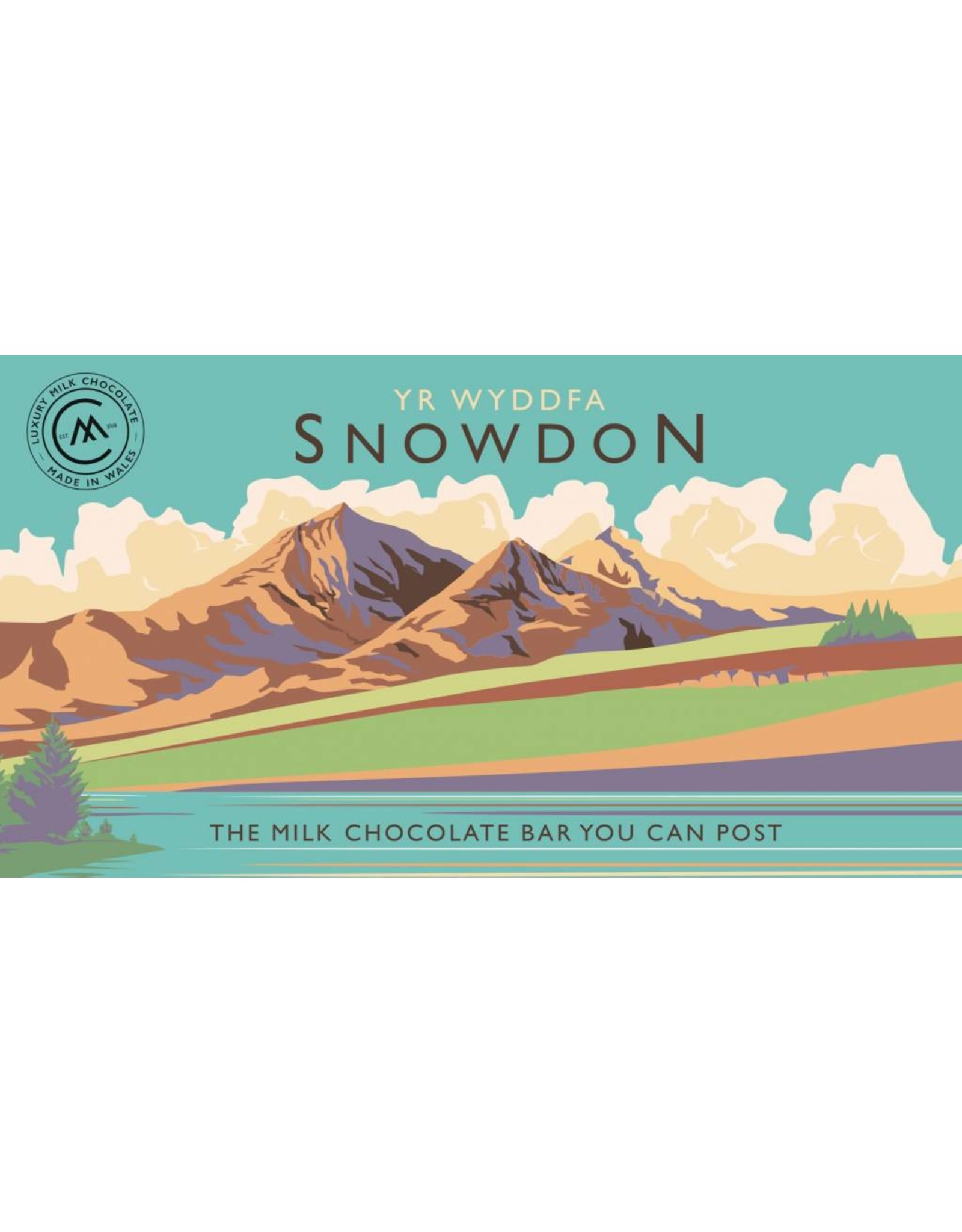 Snowdonia Milk Chocolate Bar