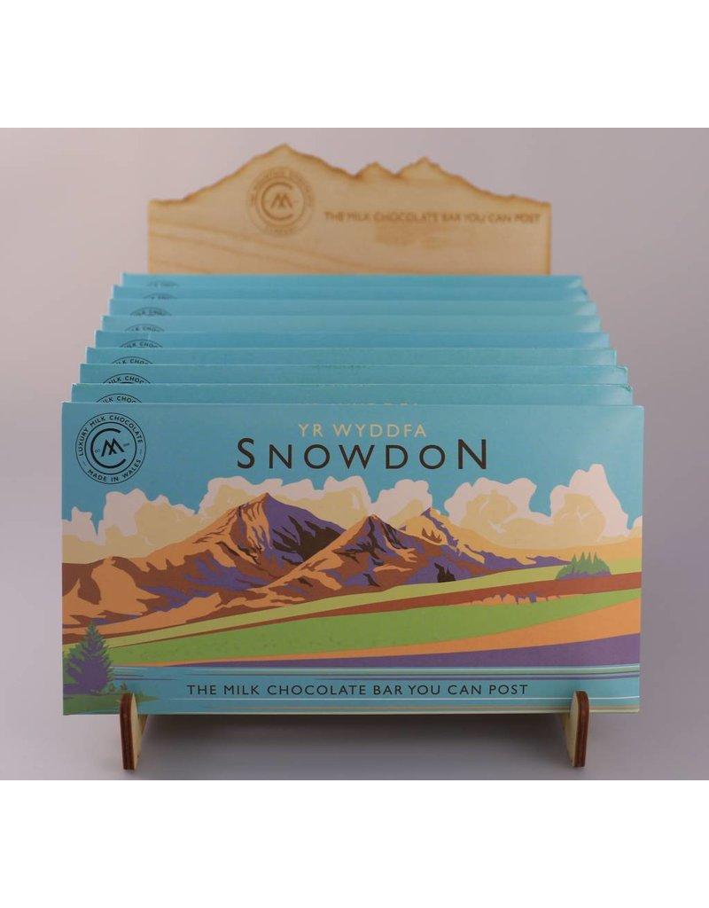 Snowdonia Milk Chocolate Bar