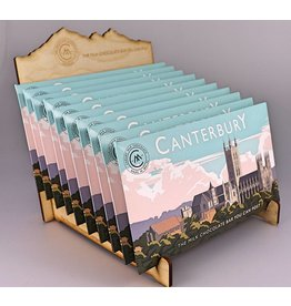 Canterbury Milk Chocolate Bar   - Trade Box of 20