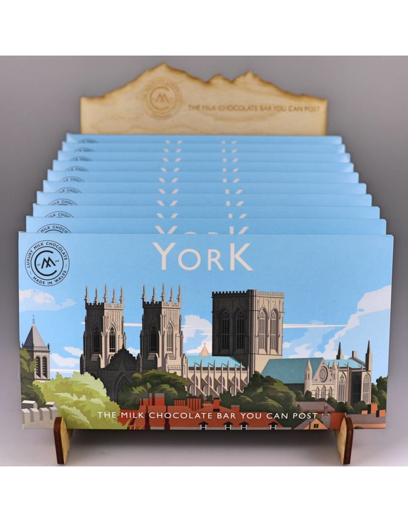 The Chocolate Bar You Can Post -York
