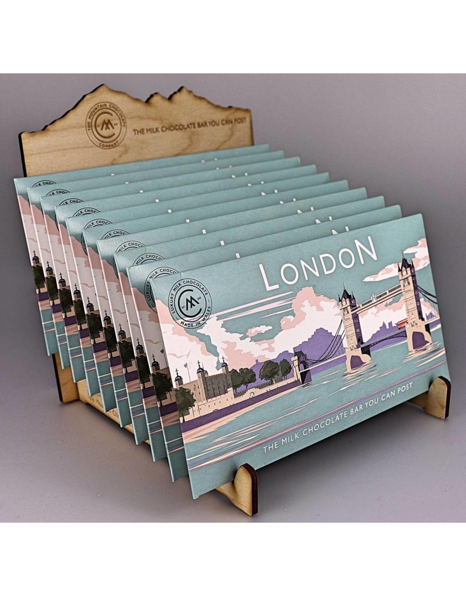 The Chocolate Bar You Can Post -Tower Bridge - Trade Box