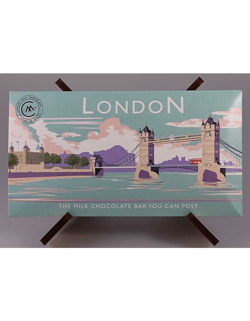 The Chocolate Bar You Can Post -Tower Bridge - Trade Box of 20