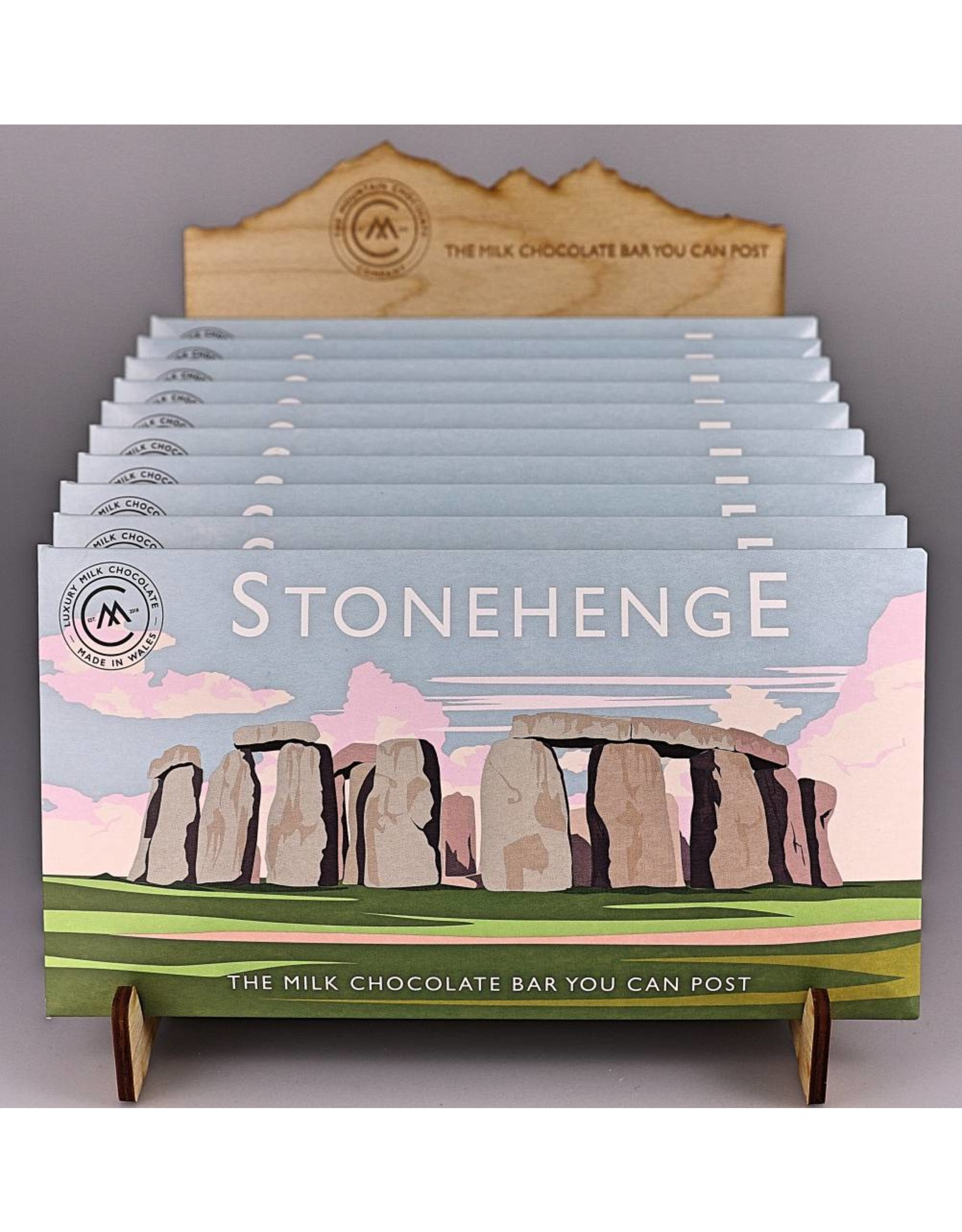 The Chocolate Bar You Can Post -Stonehenge - Trade Box