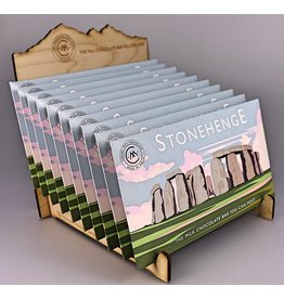 Stonehenge Milk Chocolate Bar  - Trade Box of 20