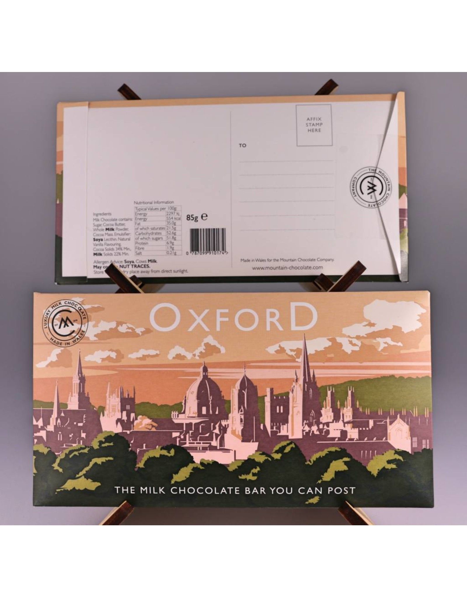 The Chocolate Bar You Can Post - Oxford - Trade Box of 20