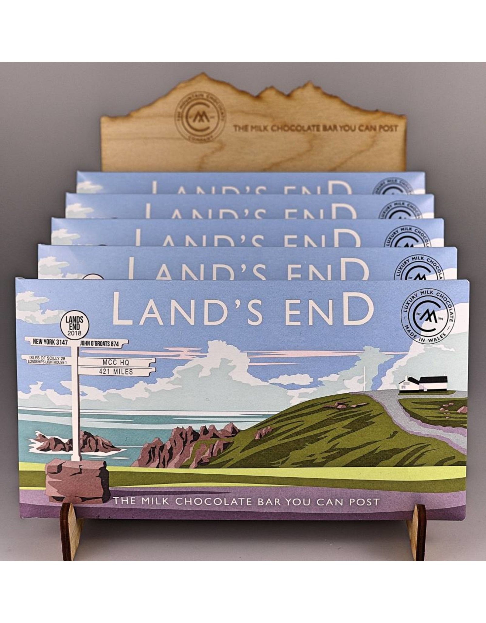 The Chocolate Bar You Can Post - Lands End - Trade Box of 20