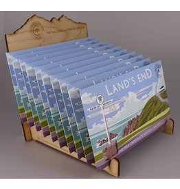 Lands End Milk Chocolate Bar - Trade Box of 20