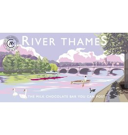 River Thames Milk Chocolate Bar