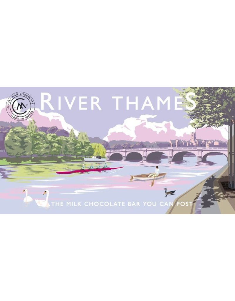 The Chocolate Bar You Can Post - River Thames
