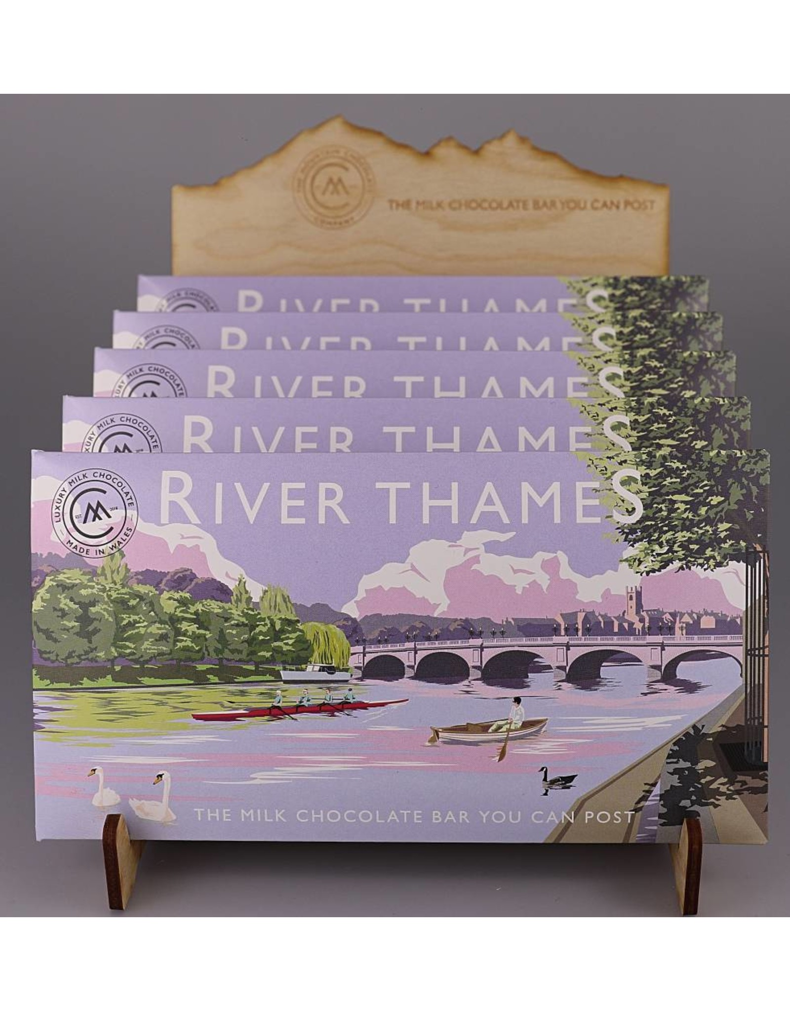 The Chocolate Bar You Can Post -River Thames