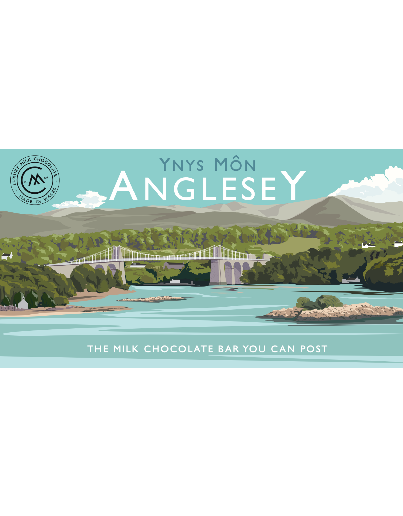 The Chocolate Bar You Can Post - Anglesey