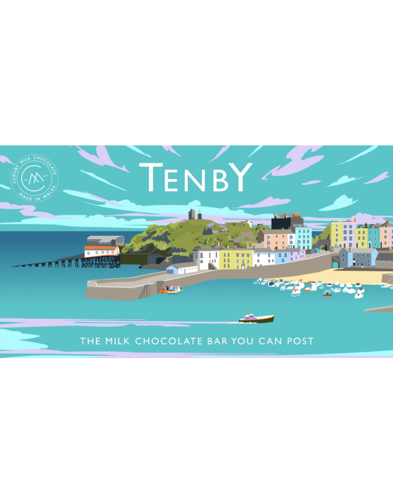 The Chocolate Bar You Can Post -Tenby
