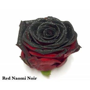 Rozen.nl Red Naomi+ glitter black