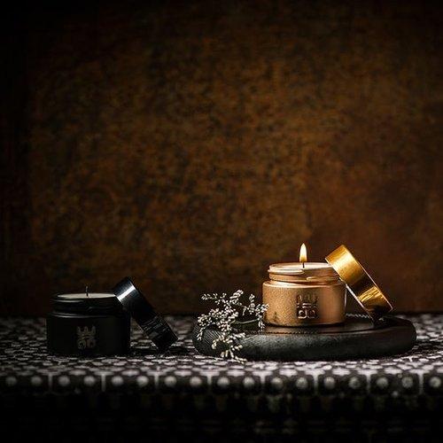 WOO WOO travel Candle Black - TQ