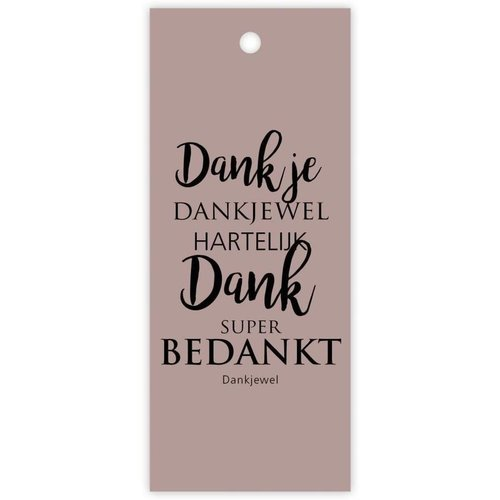 "Rozen.nl Karte ""Dank je"""