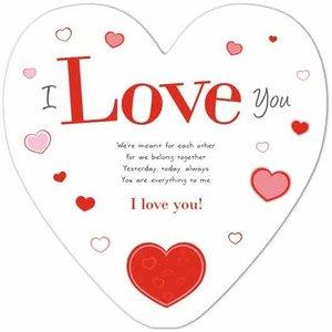 "Karte 2XXL ""I Love You"""