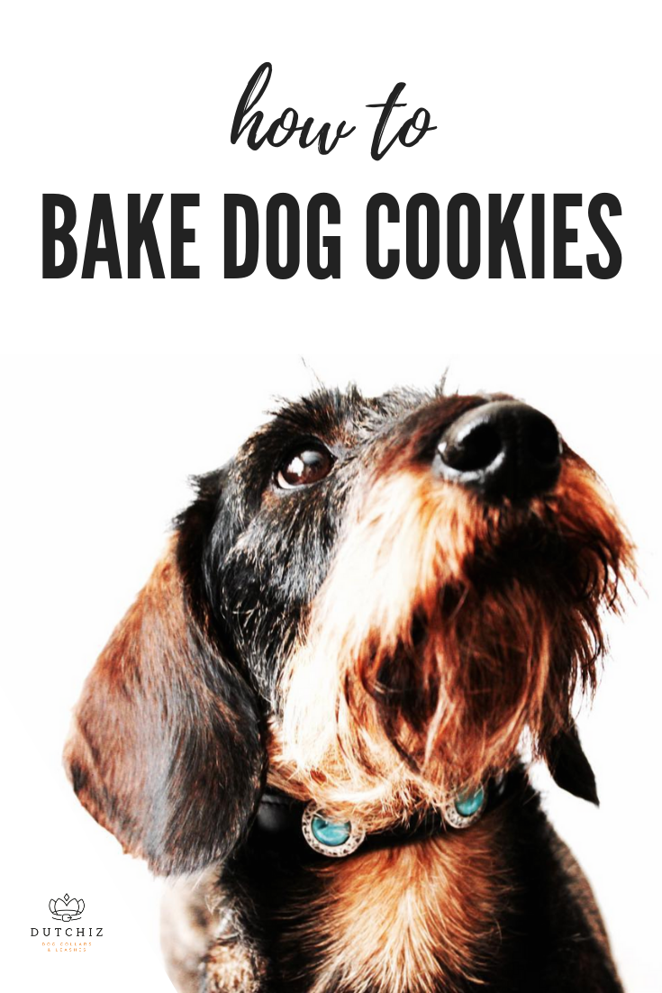 how to bake dog cookies