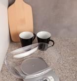 Adler Adler AD 3137s - Keukenweegschaal - inclusief glazen kom - zilver