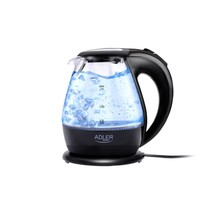 Adler AD 1224 - Glazen waterkoker - led verlichting - 2000 Watt - 1.5 L