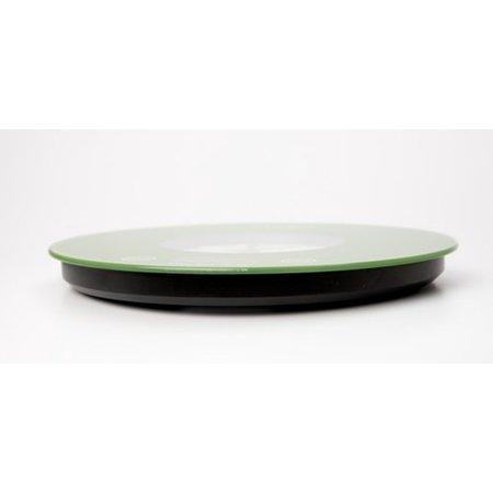 Adler Adler AD 3144 - Keukenweegschaal met klok - groen