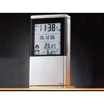Volautomatisch weerstation automaat - multifunctioneel - klok/wekker