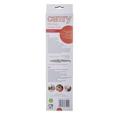 Camry Camry CR 6671 -  Keramisch mes - groen - 15.5 cm