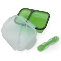 Camry CR 6697 - Twee-vaks lunch bakje - kunststof - groen