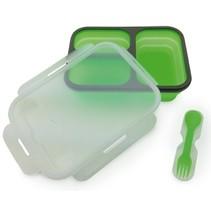 Camry CR 6698 - Drie-vaks lunch bakje - kunststof - groen