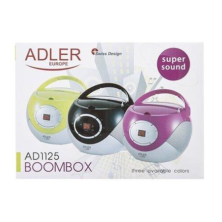 Adler Adler AD 1125b - Radio cd-speler - zwart