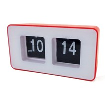 Camry CR 1131r - Flip klok - Retro - 12 uurs - rood