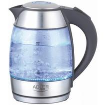 Adler AD 1246 - Waterkoker - Elektrisch - 1.8 liter - glas - RVS - 2000 Watt