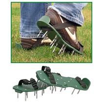Gras beluchtings sandalen met 26 spijkers